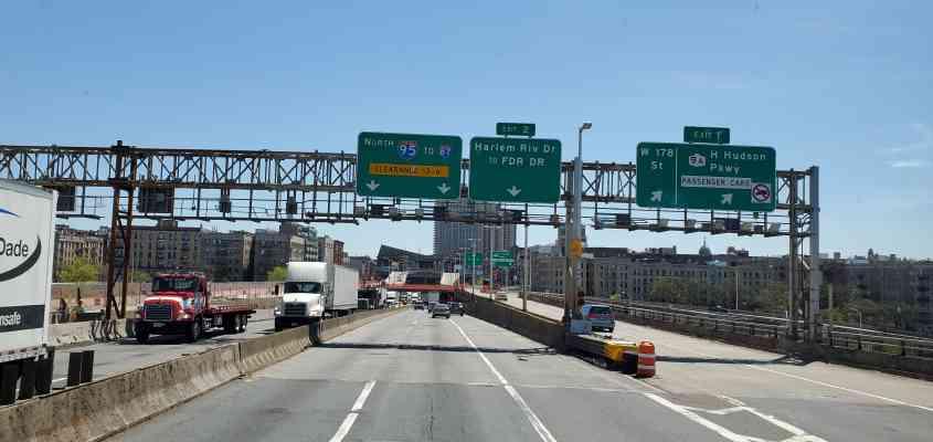 George Washington Bridge, George Washington Bridge, Fort Lee, NJ 07024, USA